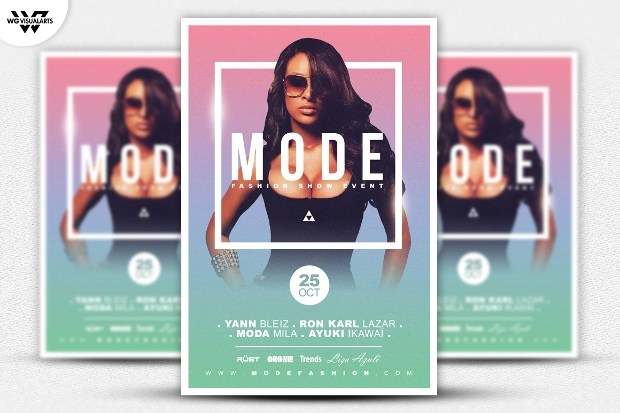 22 + Awesome Fashion Flyer PSD Designs Design Trends - Premium PSD