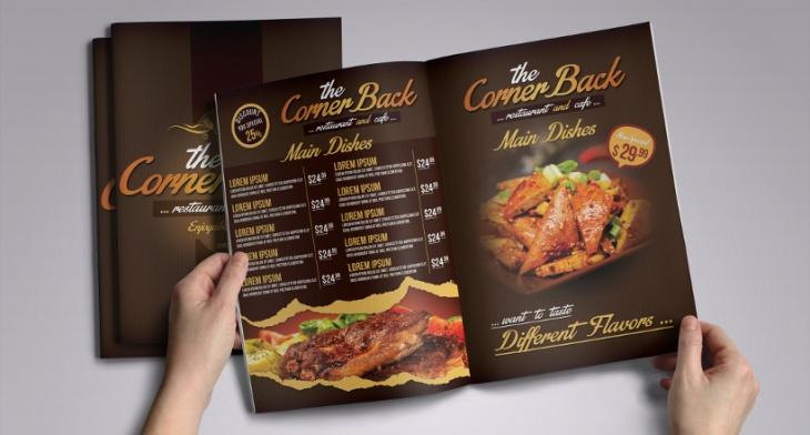 25+ Restaurant Brochure Designs, PSD , AI, Google docs, Apple Pages