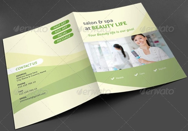 25+ Modern Spa Brochure Designs - Ai,Docs, Pages, In Design Design