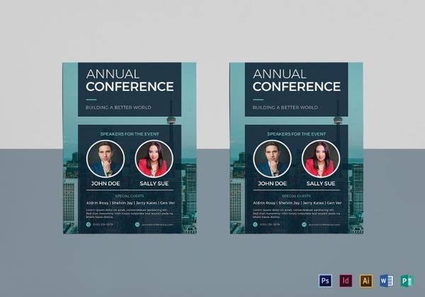 Business Conference Brochure Template MyCreativeShop 19 Conference