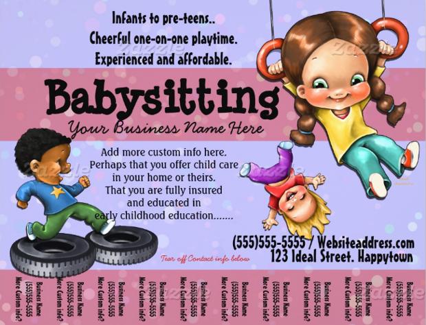 babysitting ad