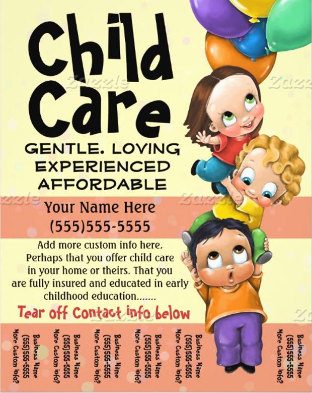 home daycare flyer samples - Ibovjonathandedecker