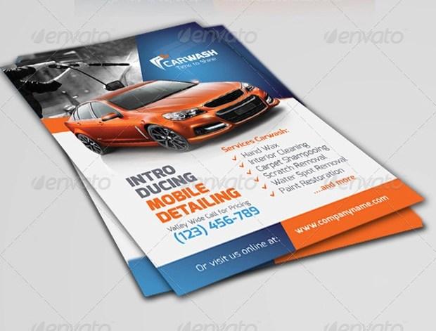 21+ Car Wash Flyer Designs, PSD Download Design Trends - Premium - car wash flyer template