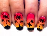 21+ Sunset Nail Art Designs, Ideas | Design Trends ...