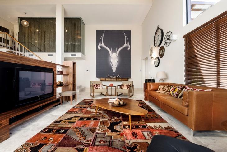 21+ Retro Living Room Designs, Decorating Ideas Design Trends - retro living room furniture
