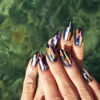21+ Retro Nail Art Designs, Ideas | Design Trends ...