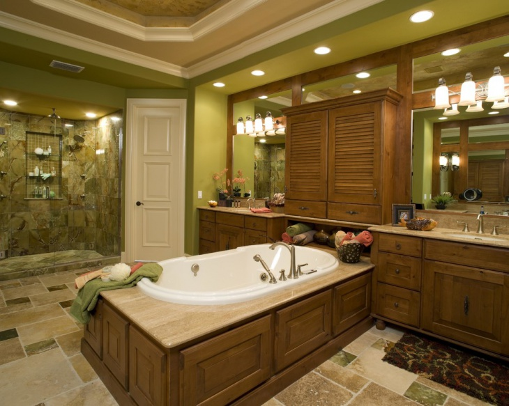 20+ Green Bathroom Designs, Ideas Design Trends - Premium PSD - green bathroom ideas