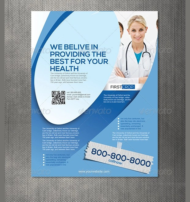 18+ Hospital Flyer Templates - Printable PSD, AI, Vector EPS Format