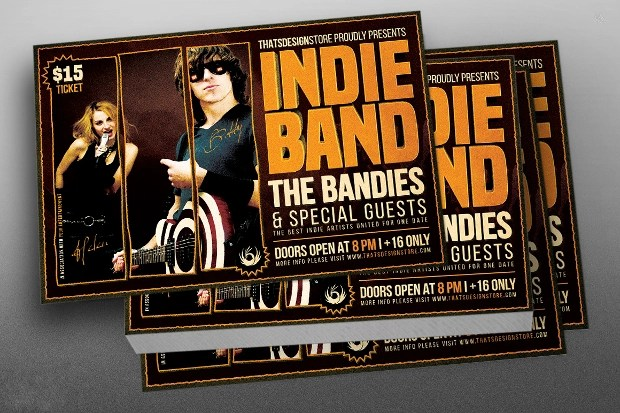 24+ Band Flyer Templates - Apple Pages, Ms Word, Publisher Design