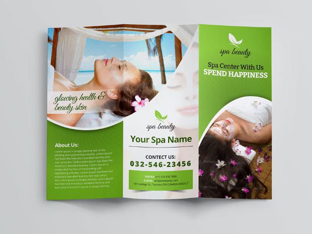 18+ Massage Brochures - Free PSD, AI, InDesign, Vector EPS Format - spa brochure
