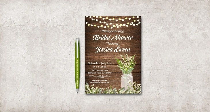 22+ Bridal Shower Invitation Templates - Printable PSD, AI, Vector - bridal shower invitation templates download