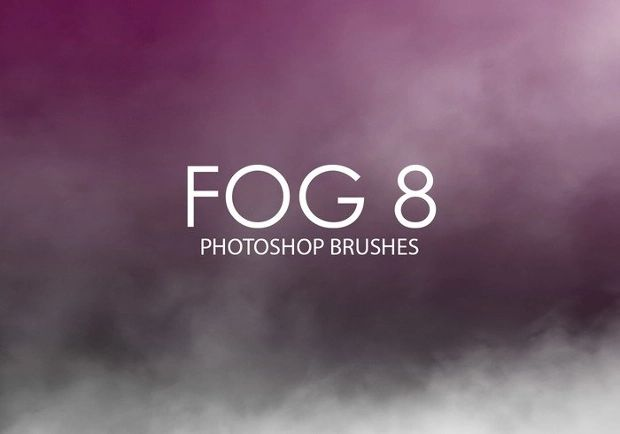 fog brush photoshop