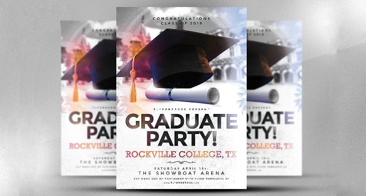 17+ Graduation Party Flyer Templates - Printable PSD, AI, Vector EPS