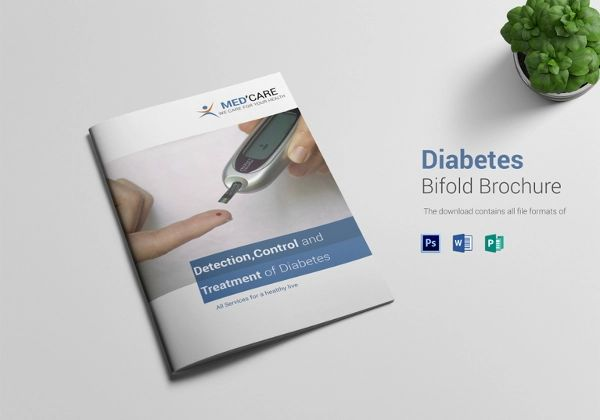 diabetes brochure template