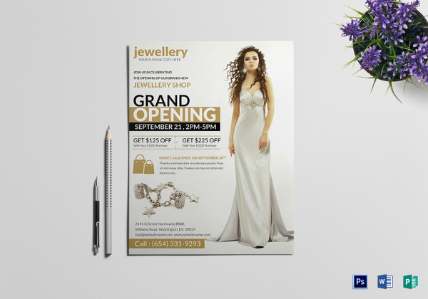 20+ Jewelry Flyer Templates - Printable PSD, AI, Vector EPS Format