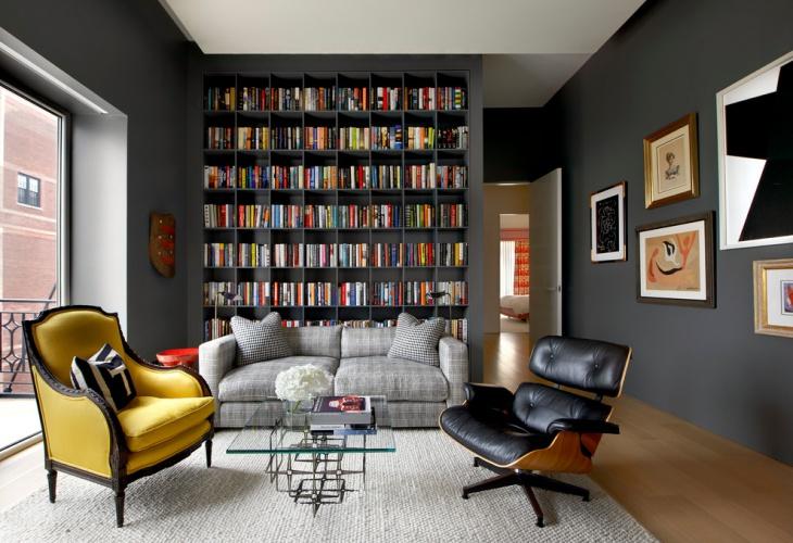 20+ Library Interior Designs, Ideas Design Trends - Premium PSD - home library design