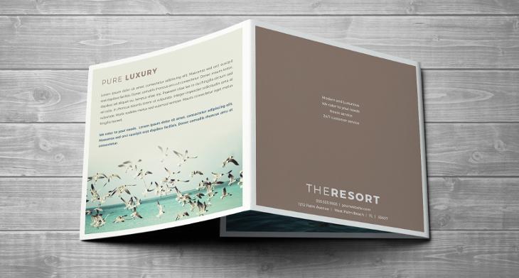 21+ Resort Brochures - PSD, AI, InDesign, Vector EPS Format Download