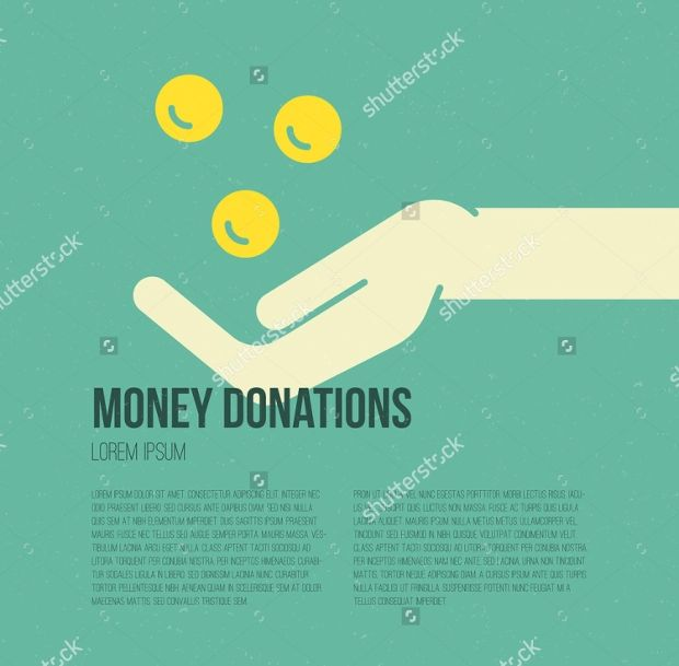 charity donation template