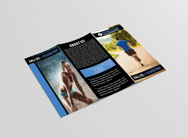 23+ Fitness Brochures - Free PSD, AI, InDesign, Vector EPS Format