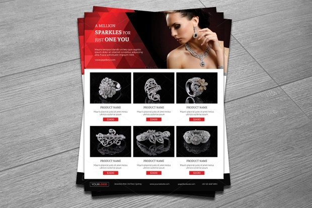 20+ Jewelry Flyer Templates - Printable PSD, AI, Vector EPS Format - promotion flyer
