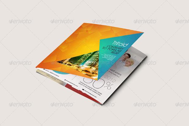 Gate Fold Brochure Mockup psd double gate fold brochure vol3 psd - gate fold brochure mockup