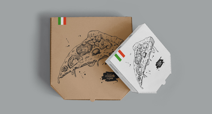 Mockup Box Chocolate 19+ Pizza Box Mockups - Psd Download | Design Trends