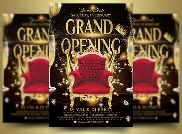21+ Grand Opening Flyer Templates - Printable PSD, AI, Vector EPS - grand opening flyer template