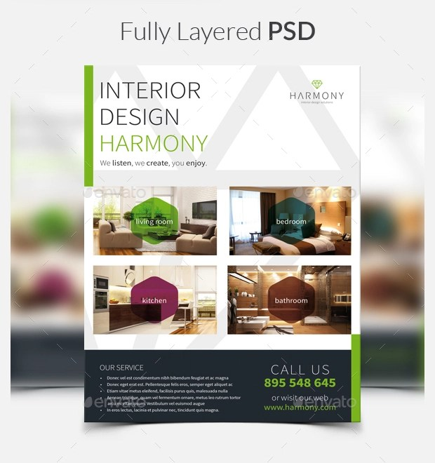18+ Interior Design Flyer Designs and Templates Download Design