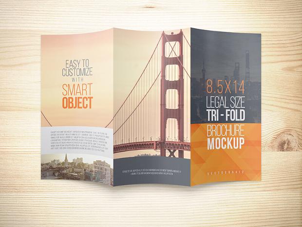 23+ Trifold Brochure Mockups - PSD Download Design Trends - gate fold brochure mockup