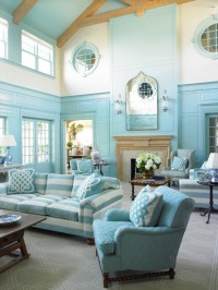 18+ Turquoise Living Room Designs, Ideas | Design Trends ...