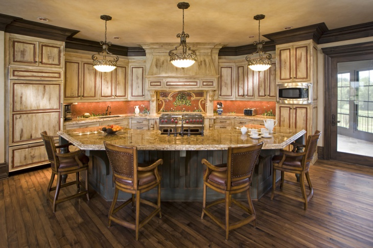 Curved Kitchen Island With Seating 18+ Curved Kitchen Island Designs, Ideas | Design Trends