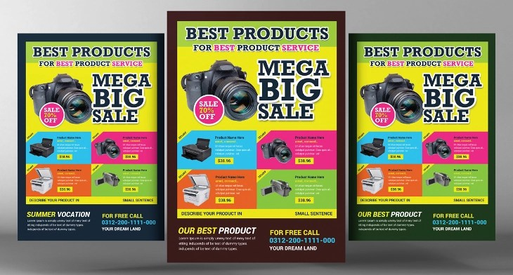 20+ Product Flyer Templates - Printable PSD, AI, Vector EPS Format - free product flyer templates