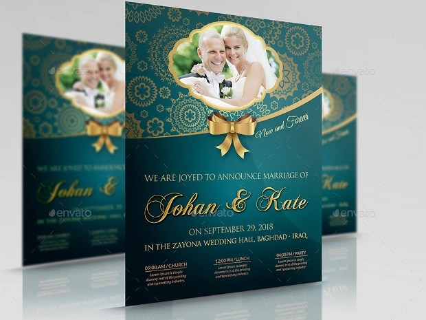 60+ Flyer Templates - Printable PSD, AI, Vector EPS Format Download - wedding flyer
