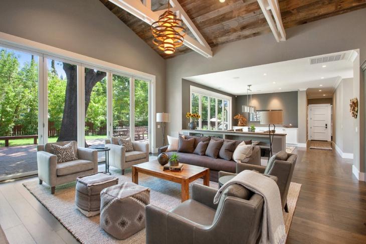 18+ Open Living Room Designs, Idea Design Trends - Premium PSD - open concept living room