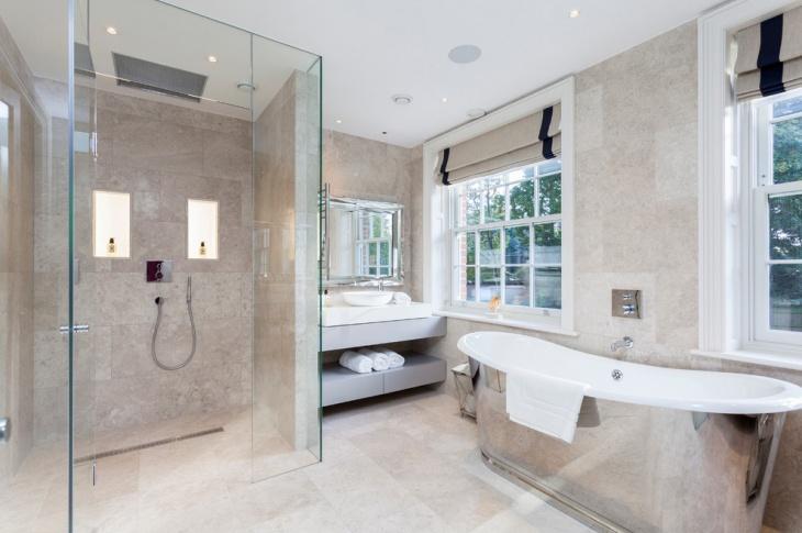 Beautiful 17 Curbless Shower Designs Ideas Design Trends Premium Psd ...