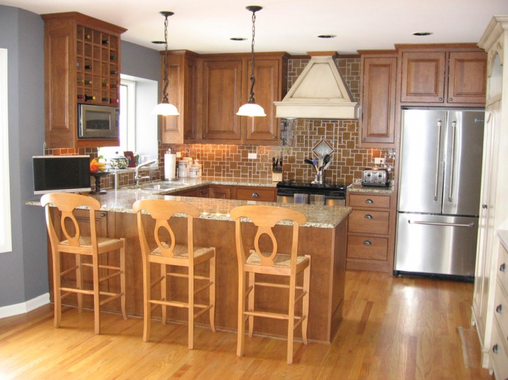 18+ Small U Shaped Kitchen Designs, Ideas Design Trends - u shaped kitchen design