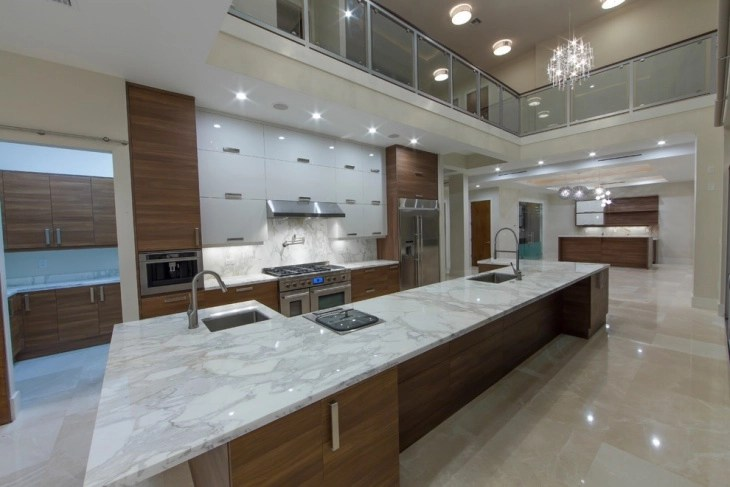 Kitchen Ideas With Light Wood Cabinets 18+ Marble Kitchen Designs, Ideas | Design Trends