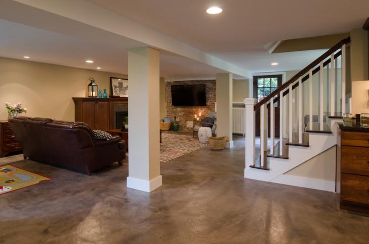 17 Basement Flooring Designs Ideas Design Trends
