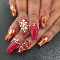 21+ Red Nail Art Designs, Ideas | Design Trends - Premium ...