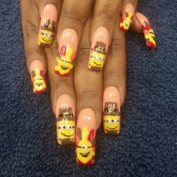 60+ Nail Art Designs, Ideas | Design Trends - Premium PSD ...