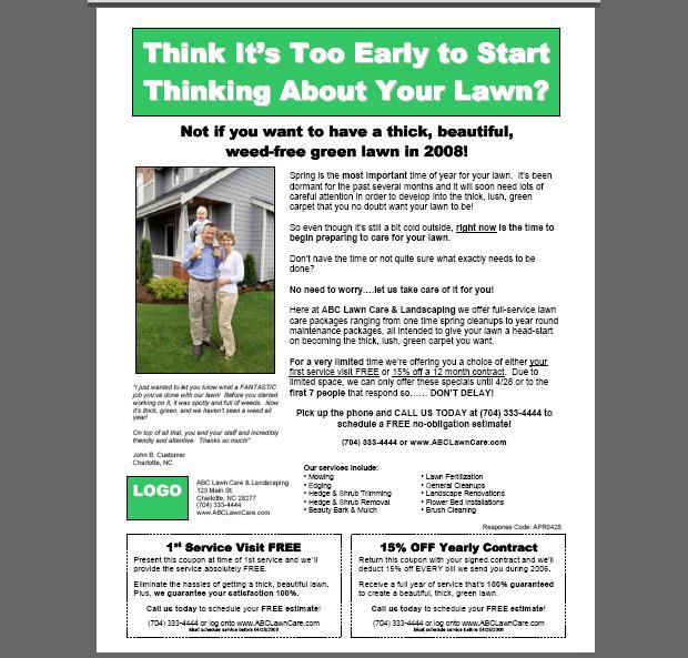 15+ Lawn Care Flyer Templates - Printable PSD, AI, Vector EPS Format - coupon flyer template