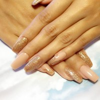 Gold Nail Designs For Acrylic Nails | www.imgkid.com - The ...