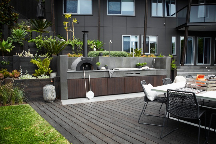 Aménagement Terrasse Couverte Moderne 19+ Modern Outdoor Kitchen Designs, Ideas | Design Trends