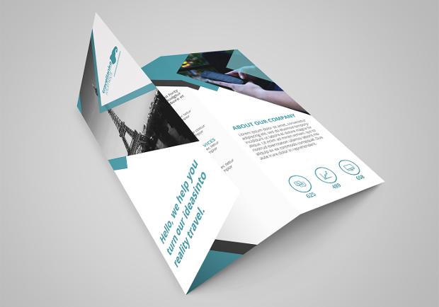 sample of travel brochure