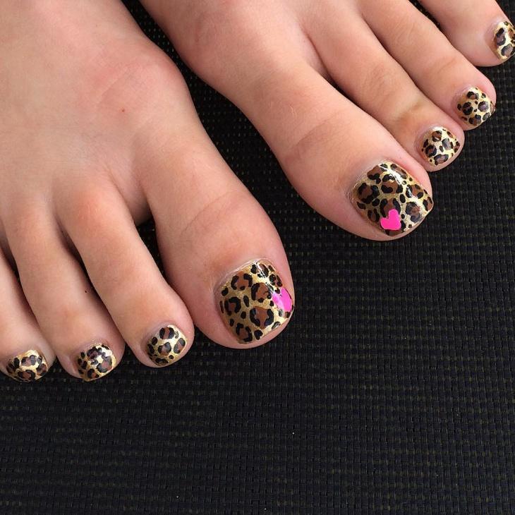 44+ Toe Nail Art Designs, Ideas