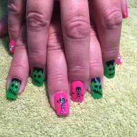 21+ Monster Nail Art Designs, Ideas | Design Trends ...