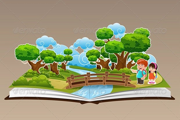 Pop Up Book Vector 15 Book Cliparts Vector Eps Jpg Png Design Trends