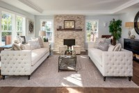 21+ Rectangular Living Room Designs, Ideas   Design Trends ...