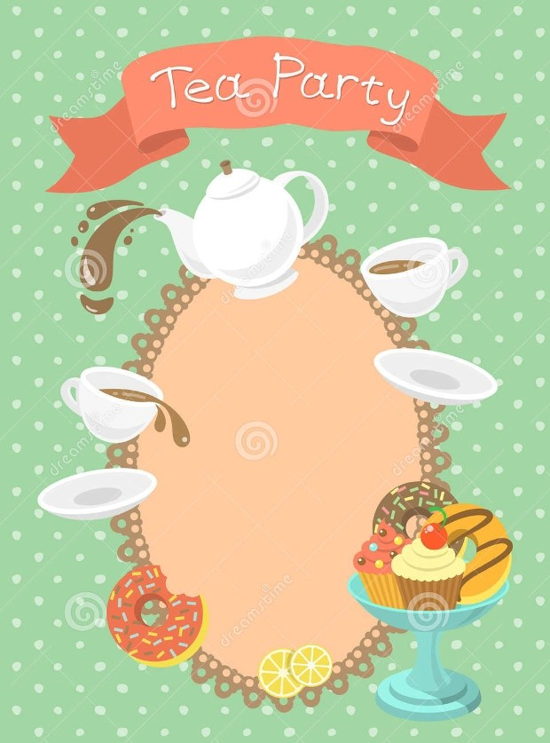 18+ Tea Party Invitations - Printable PSD, AI, Vector EPS Design - tea party invitation