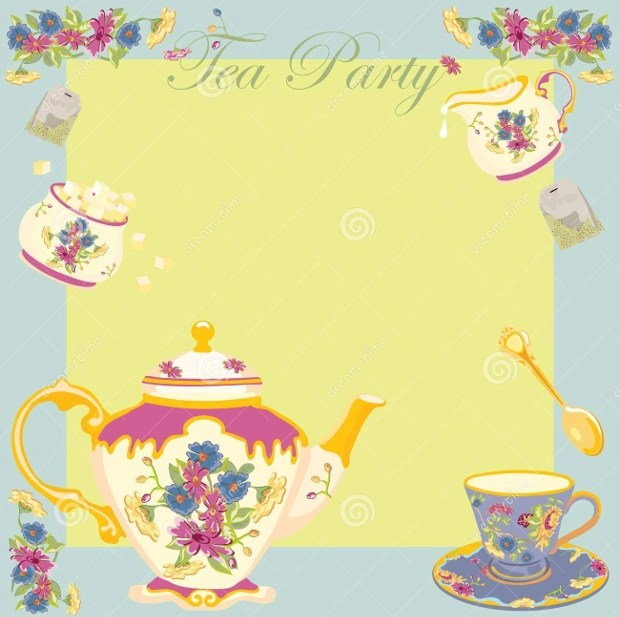 19+ Tea Party Invitation Designs - Printable PSD, AI, Word Design
